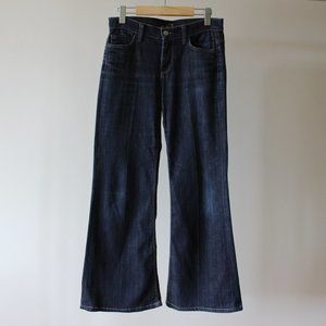 7 For All Mankind Ginger Blue Flared Jeans